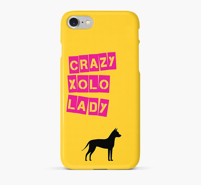 Phone Case 'Crazy Mexican Hairless Lady