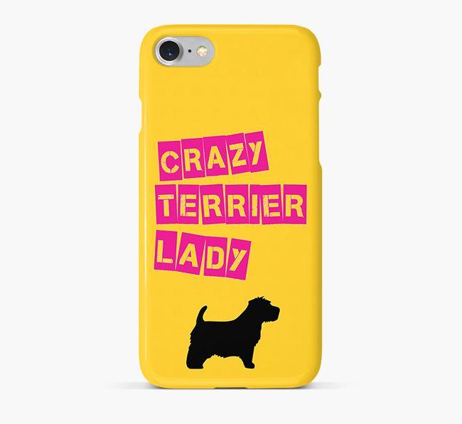Phone Case 'Crazy Norfolk Terrier Lady