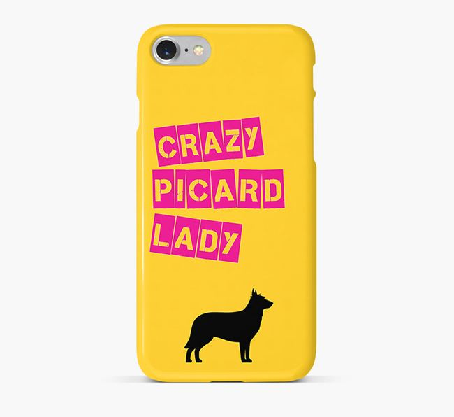 Phone Case 'Crazy Berger Picard Lady
