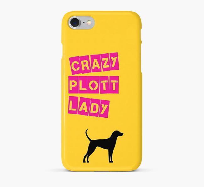 Phone Case 'Crazy Plott Hound Lady