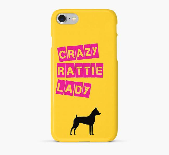 Phone Case 'Crazy Rat Terrier Lady