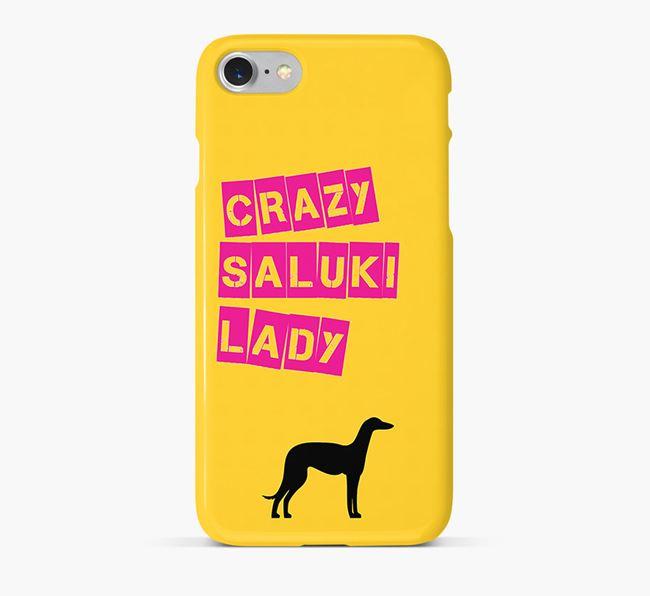 Phone Case 'Crazy Saluki Lady