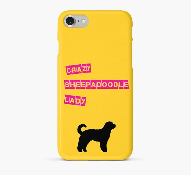 Phone Case 'Crazy Sheepadoodle Lady
