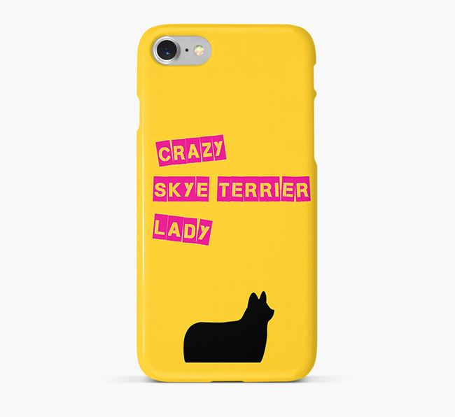 Phone Case 'Crazy Skye Terrier Lady