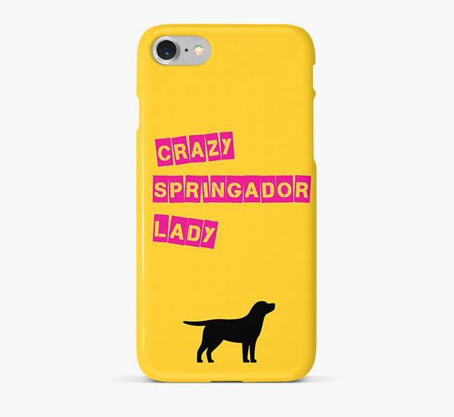 Phone Case 'Crazy Springador Lady
