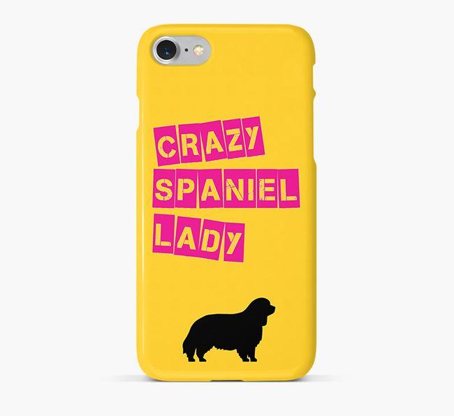 Phone Case 'Crazy Sussex Spaniel Lady