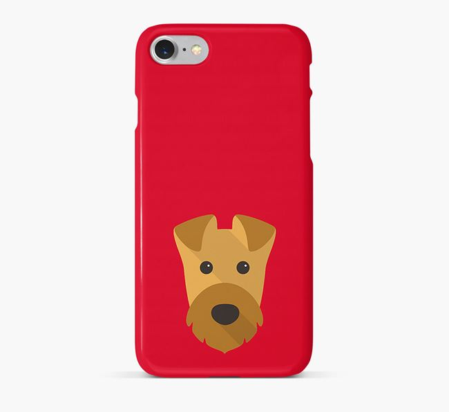Phone Case with Airedale Icon