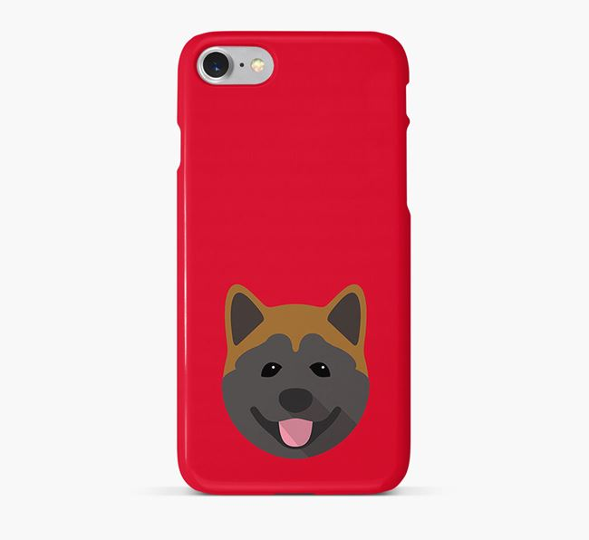 Phone Case with Akita Icon