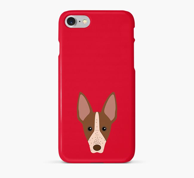 Phone Case with American Hairless Icon