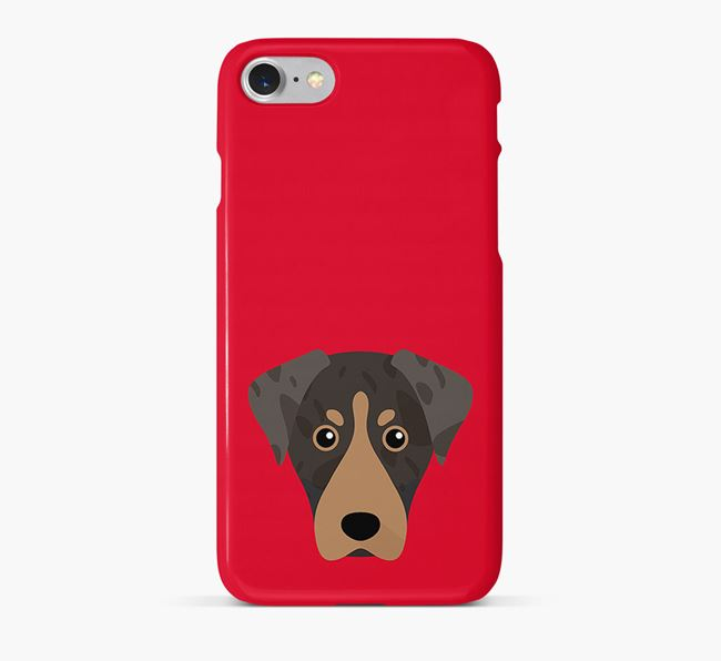 Phone Case with Leopard Cur Icon
