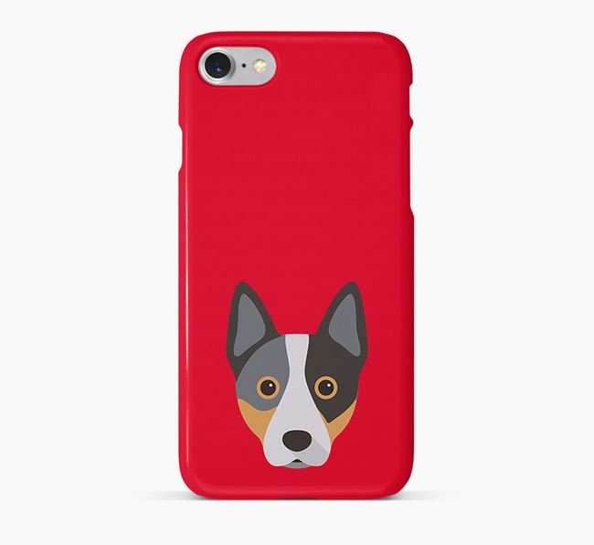 Phone Case with Cattle Dog Icon