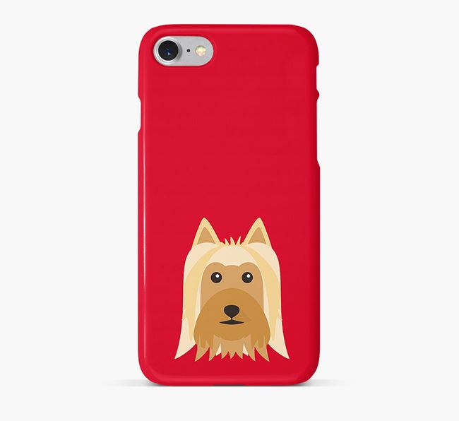 Phone Case with Silky Terrier Icon