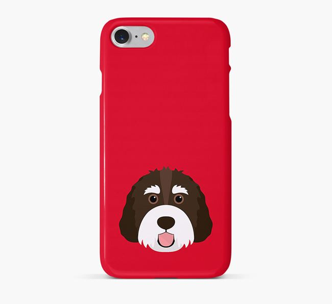 Phone Case with Bernedoodle Icon