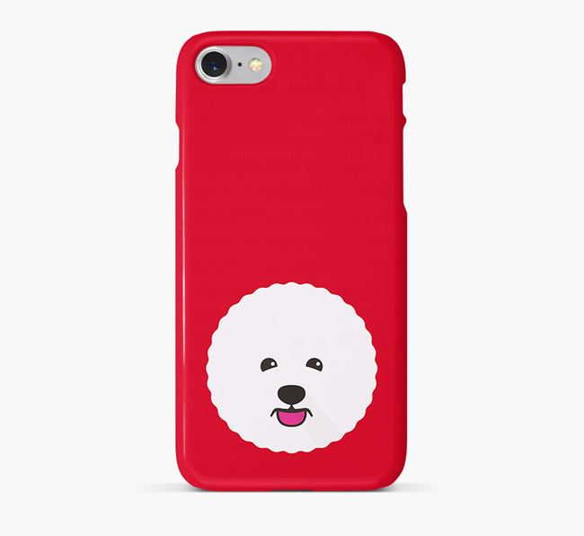 Phone Case with Bichon Frise Icon