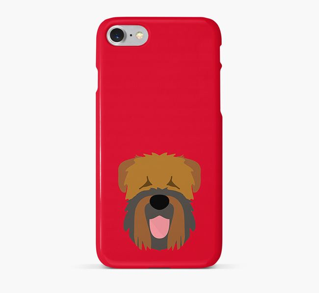 Phone Case with Black Russian Icon