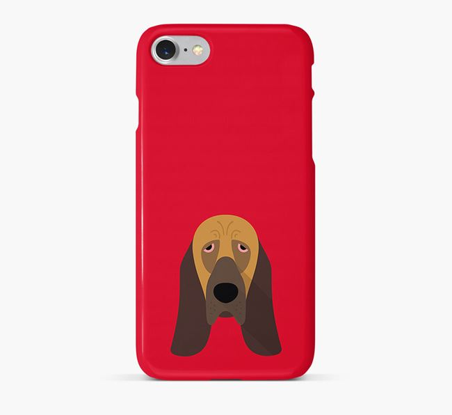 Phone Case with Bloodhound Icon