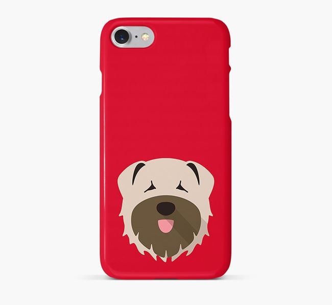 Phone Case with Bouvier Des Flandres Icon