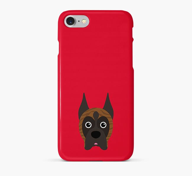 Phone Case with Boxer Icon