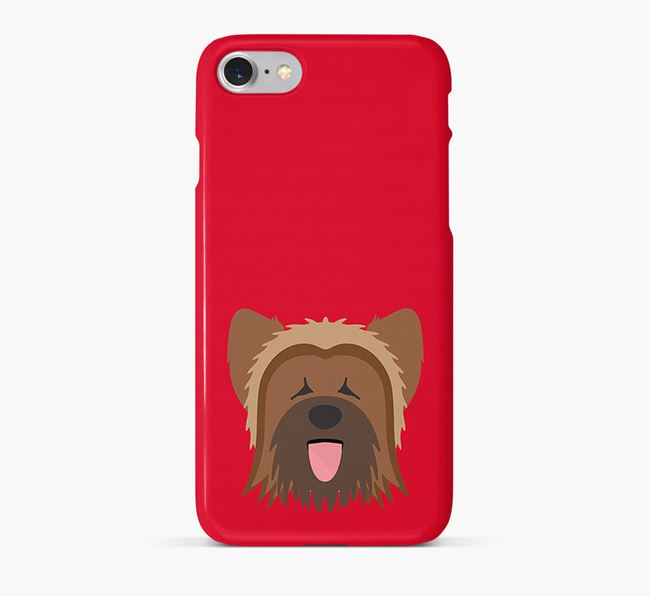 Phone Case with Briard Icon