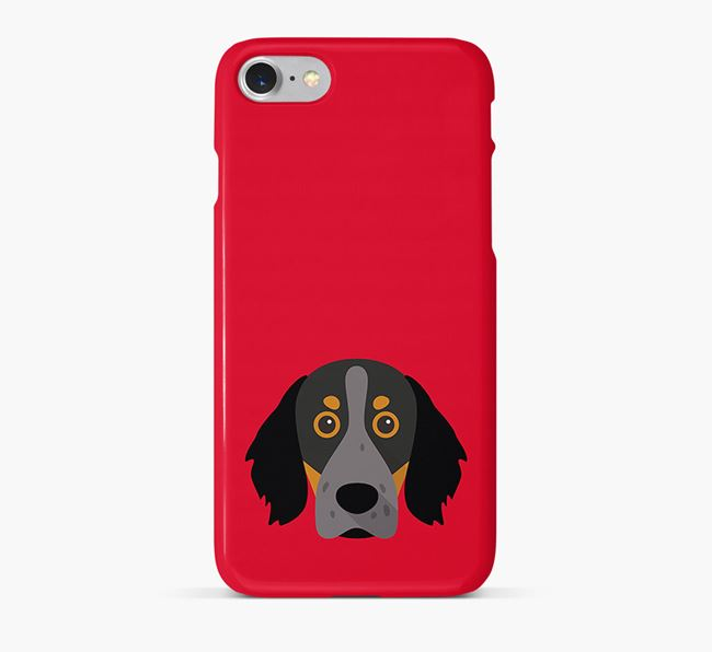 Phone Case with Brittany Spaniel Icon