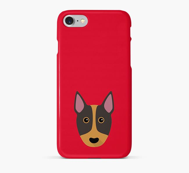 Phone Case with Bull Terrier Icon