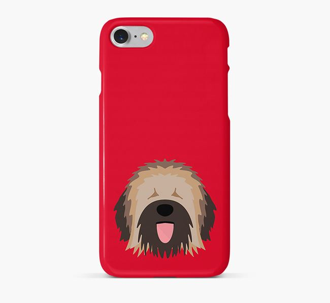 Phone Case with Catalan Sheepdog Icon