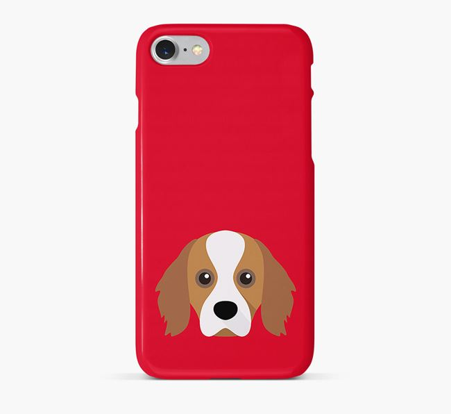 Phone Case with Cavapom Icon