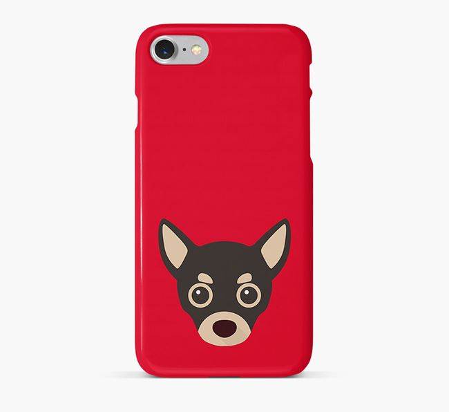 Phone Case with Chihuahua Icon
