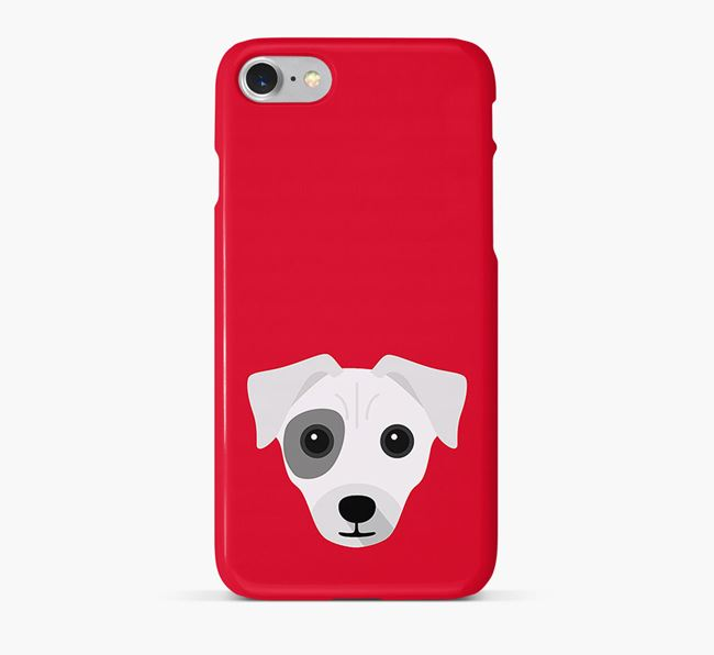Phone Case with Chi Staffy Bull Icon