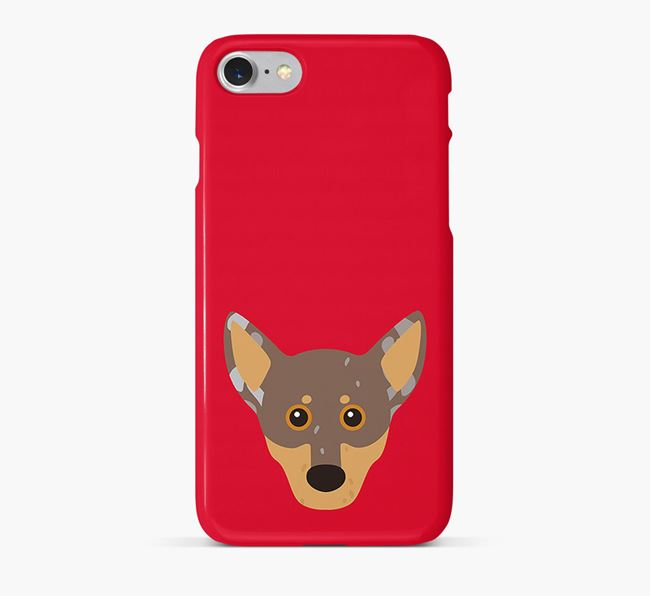 Phone Case with Chiweenie Icon