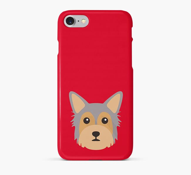 Phone Case with Chorkie Icon