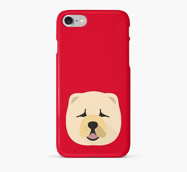 Phone Case with Chow Chow Icon