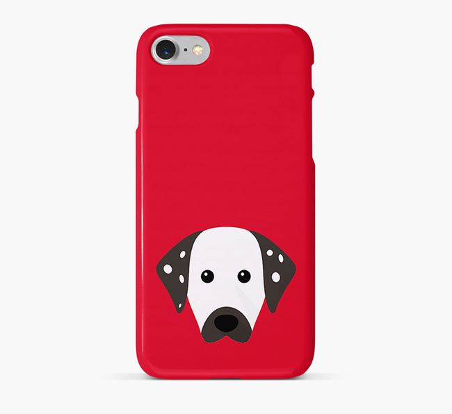 Phone Case with Dalmatian Icon