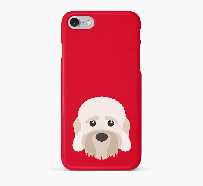 Phone Case with Dandie Dinmont Icon