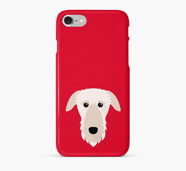 Phone Case with Deerhound Icon
