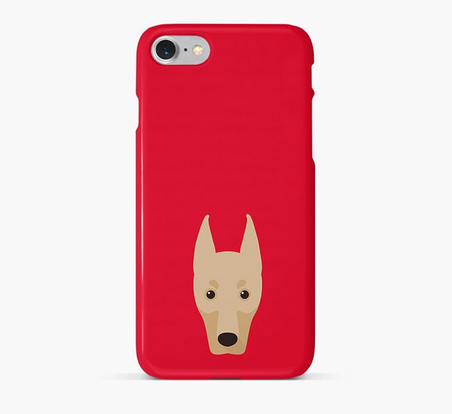 Phone Case with Dobermann Icon