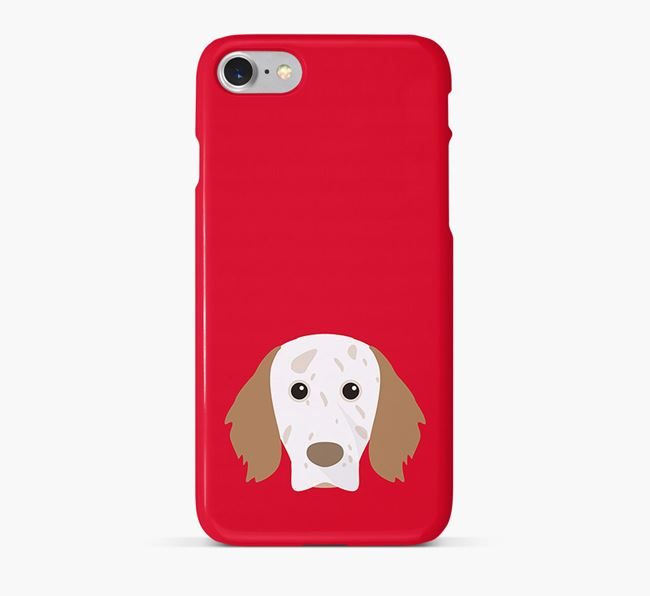 Phone Case with English Setter Icon