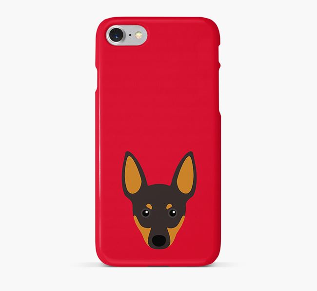Phone Case with Toy Terrier Icon