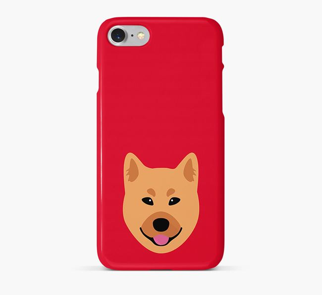 Phone Case with Finnish Spitz Icon