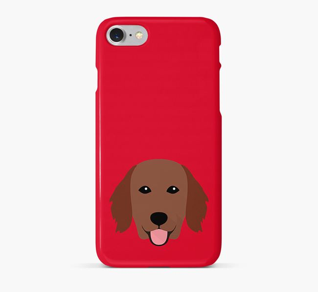 Phone Case with Flatcoat Icon