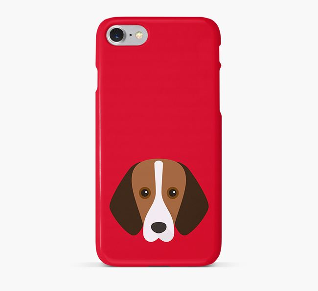 Phone Case with Foxhound Icon