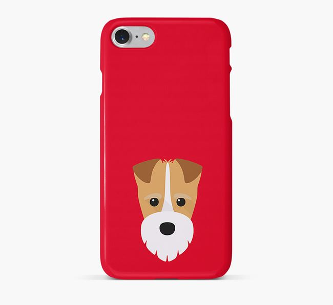 Phone Case with Fox Terrier Icon