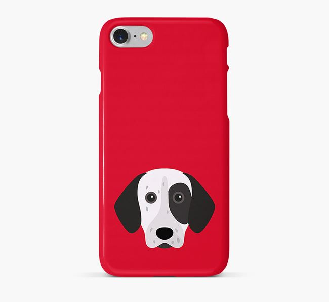 Phone Case with Shorthaired Pointer Icon