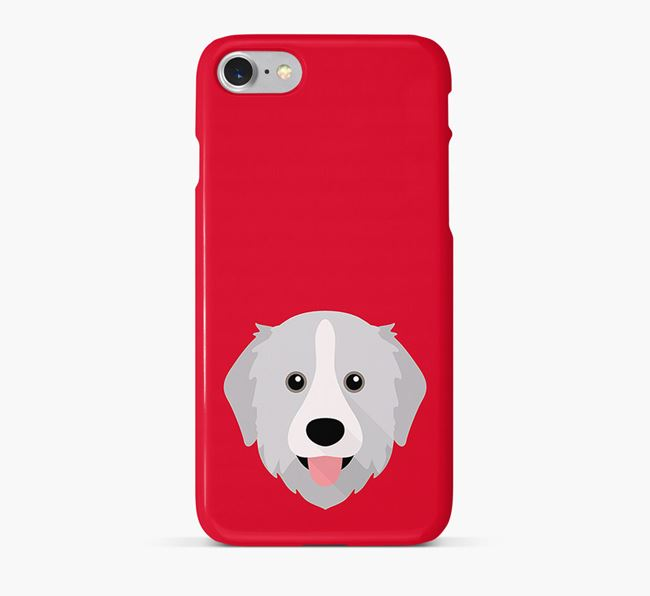 Phone Case with Great Pyrenees Icon