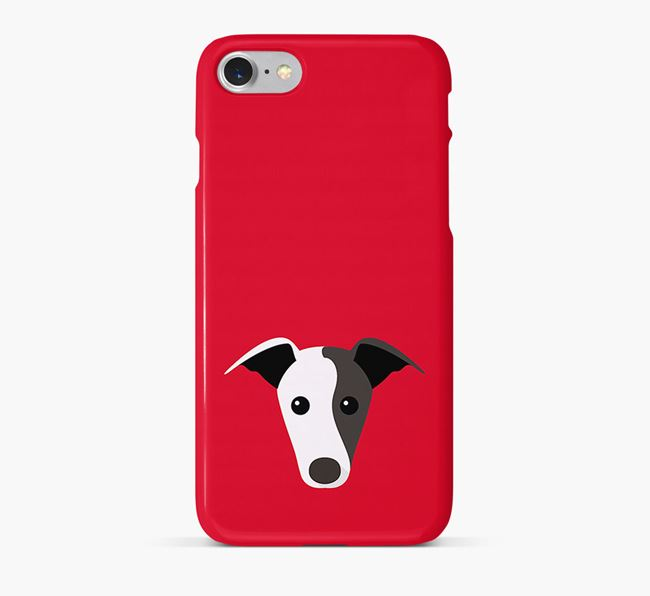Phone Case with Greyhound Icon