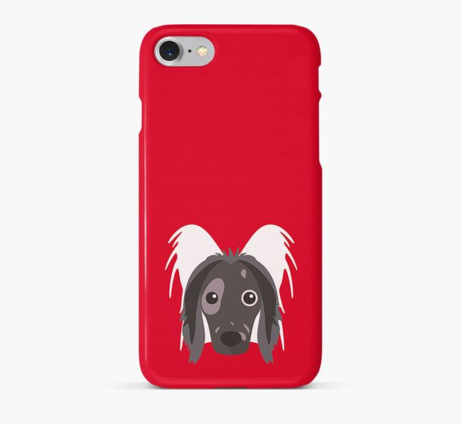 Phone Case with Chinese Crested Icon