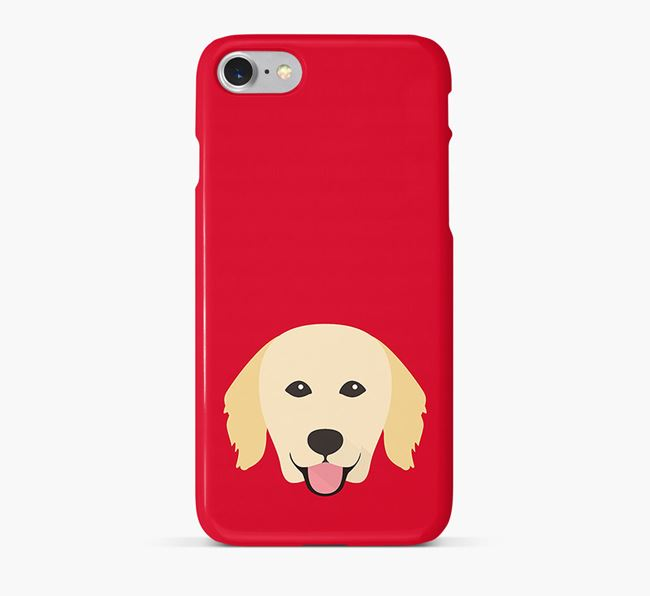 Phone Case with Hovawart Icon