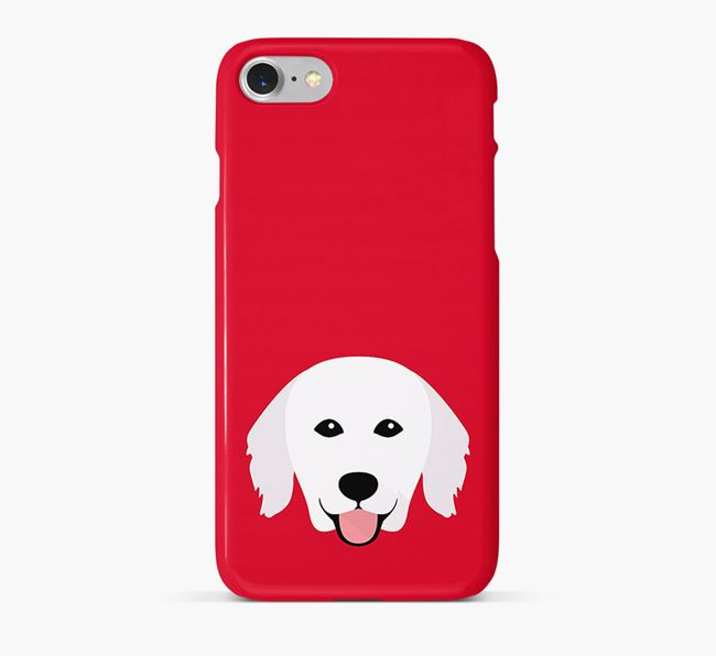Phone Case with Kuvasz Icon