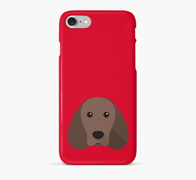Phone Case with Water Spaniel Icon