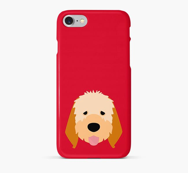 Phone Case with Italian Spinone Icon